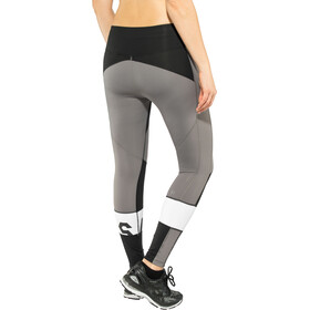 asics Color Block Cropped Tights 2 Kobiety, performance black
